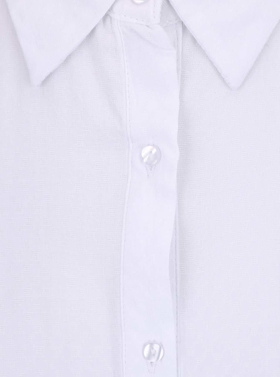 0620b1abb45 Bílá dlouhá halenka bez rukávů Haily´s Elora ...