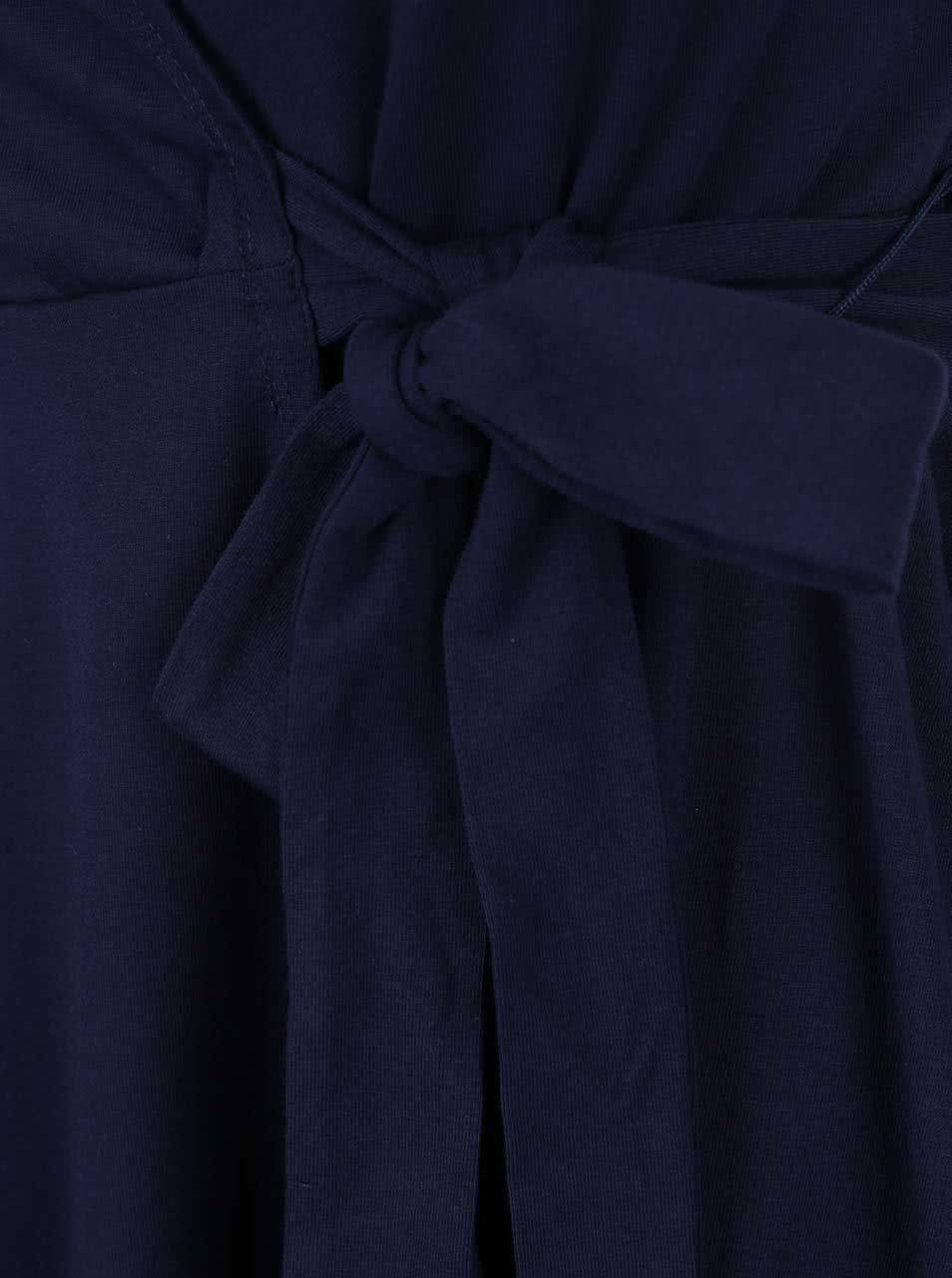 Tmavě modré zavinovací šaty Dorothy Perkins ... 01df75e7d6