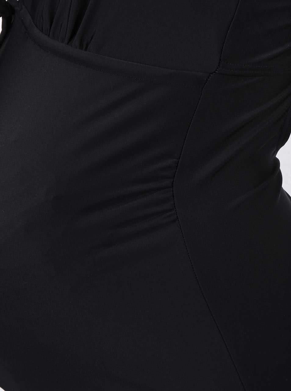 Černé těhotenské plavky Mama.licious Josefine ... f152c49119
