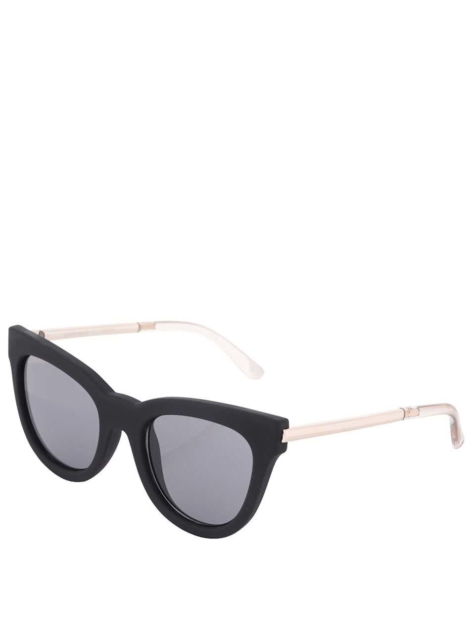 Čierne dámske slnečné okuliare Le Specs Le Debutante ... 4f577c080b8