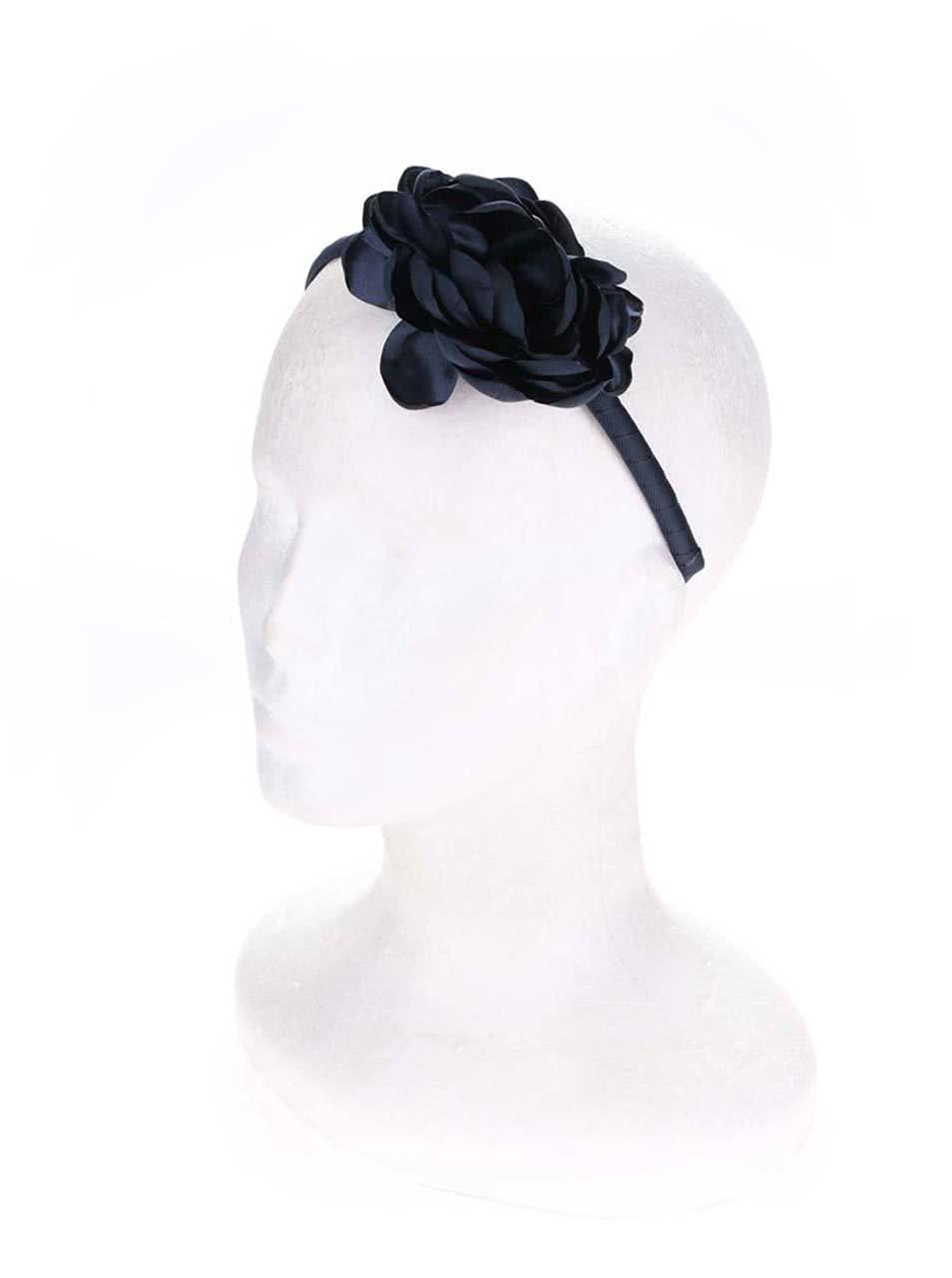 Tmavě modrá holčičí čelenka s květinou name it Acc ... 08f76daae4