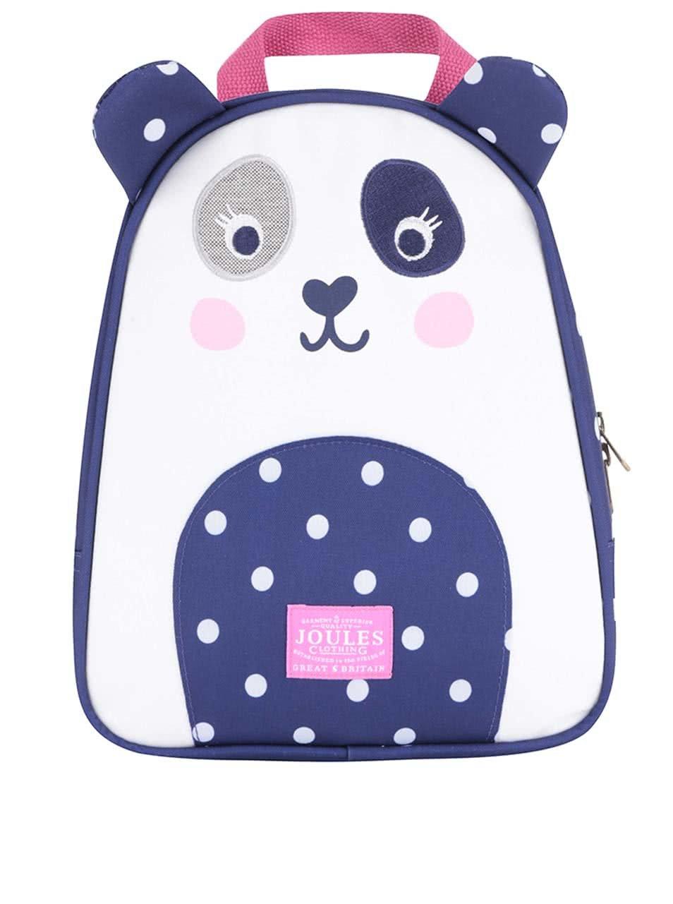 Modrý holčičí batoh ve tvaru pandy Tom Joule ... 09b4e27711