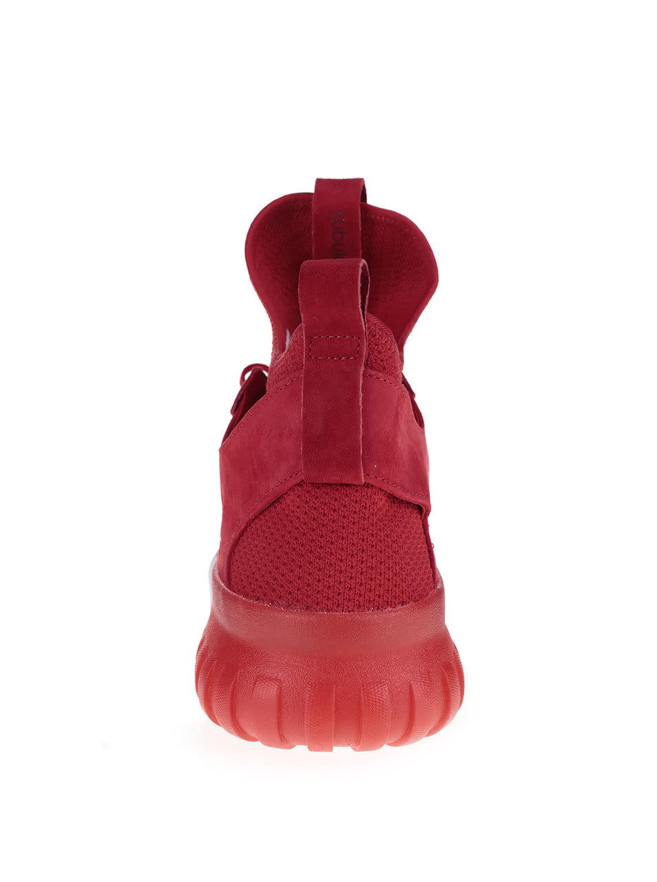 425d731b3a Červené pánske členkové topánky so semišovým detailom adidas Originals  Tubular X PK ...