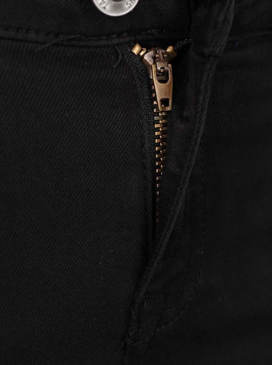 05229572117 Černé elastické džíny s potrhaným efektem TALLY WEiJL - SLEVA ...