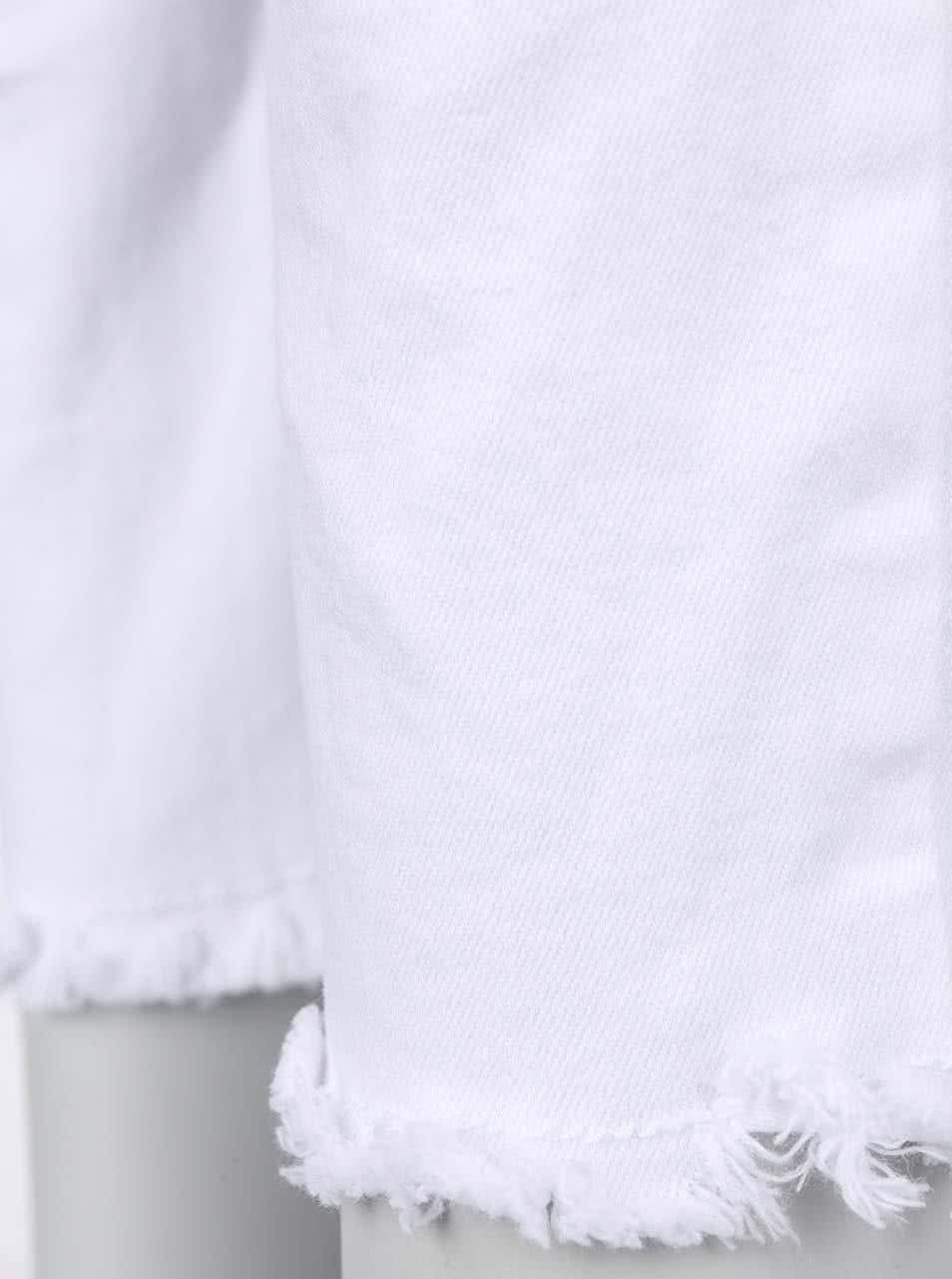 723394c1ff Biele nohavice s potrhaným efektom TALLY WEiJL