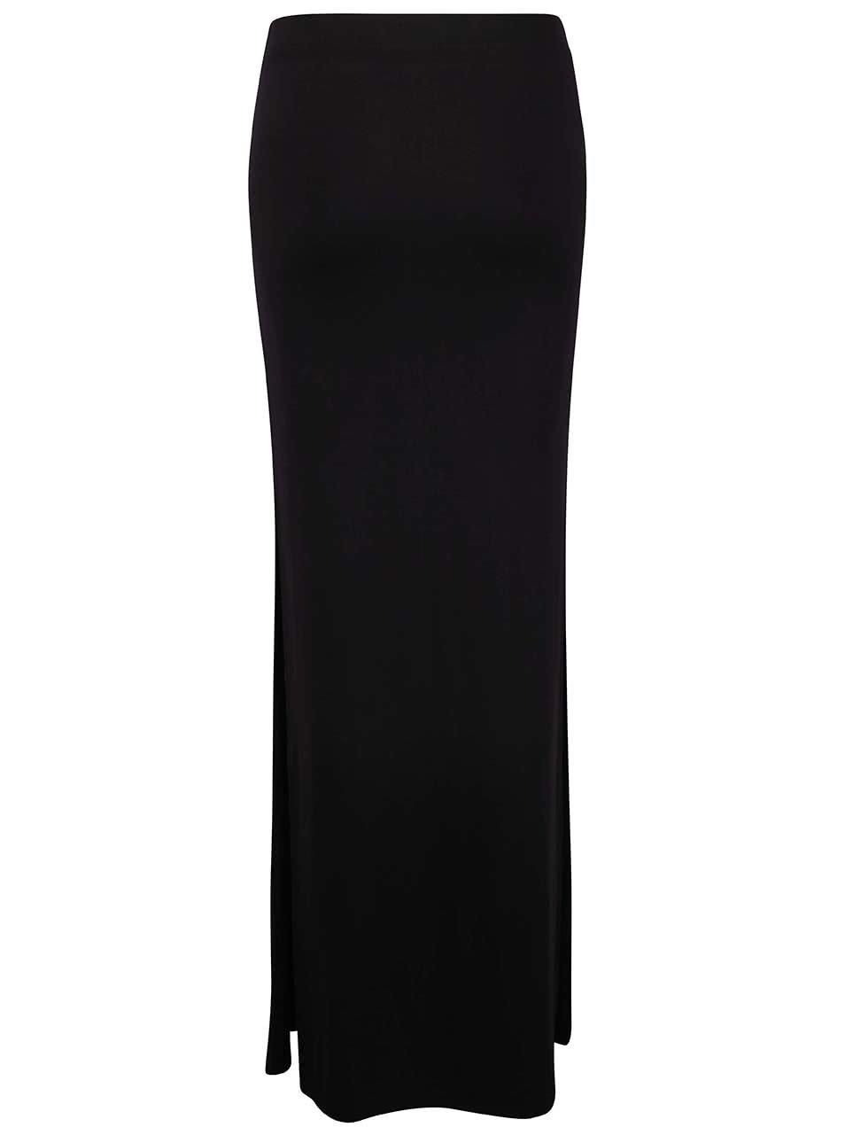 d4f6159a39fd Čierna dlhá sukňa TALLY WEiJL ...