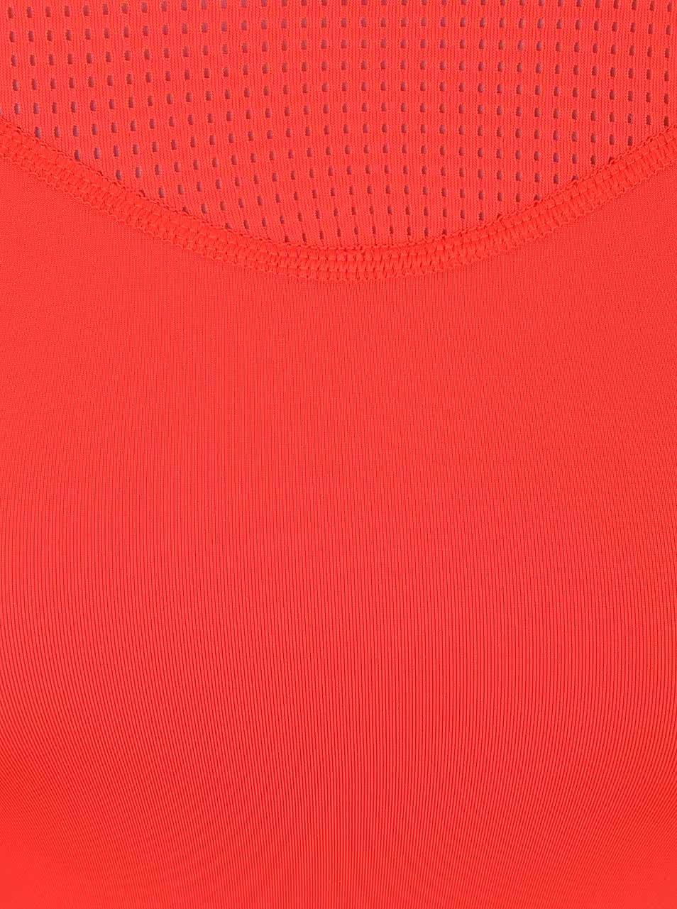 12b3a44bab17 Červené dámske tričko Nike Pro Hypercool ...