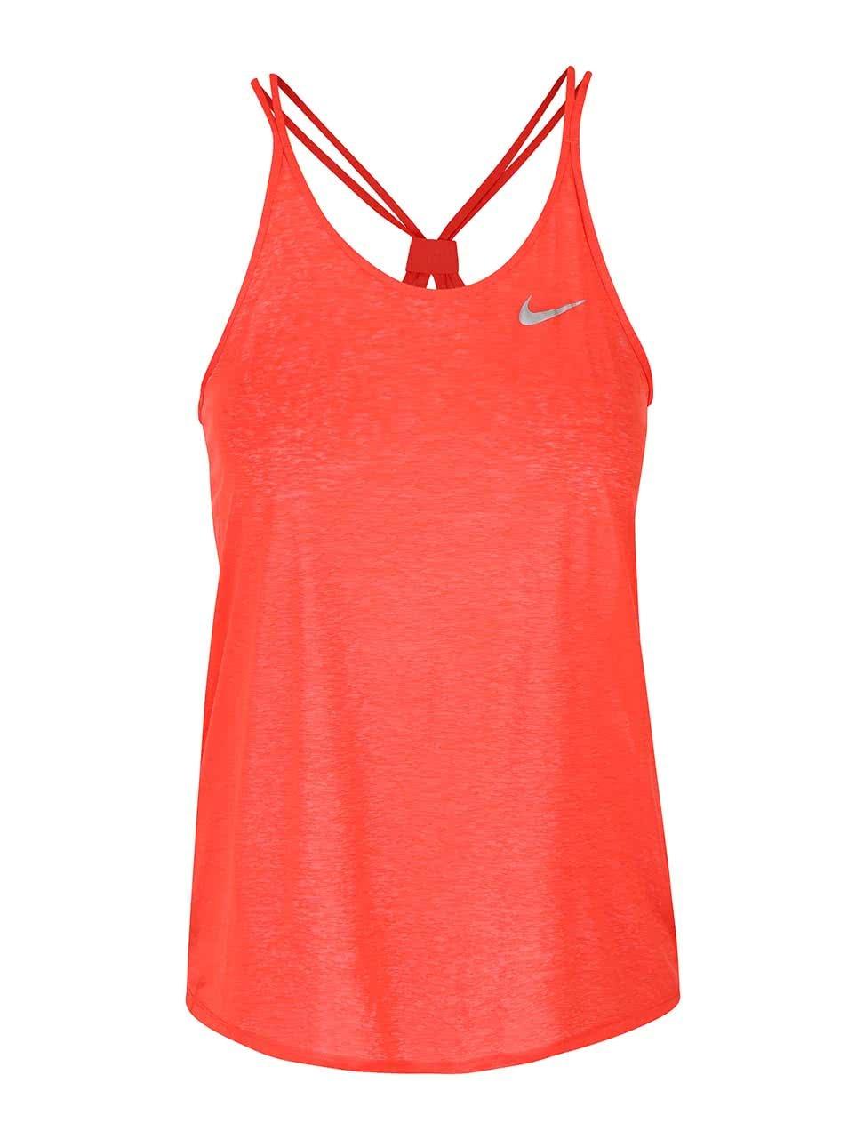 Červené dámske tielko Nike Dri-Fit Cool ... 50a09e2f6a0