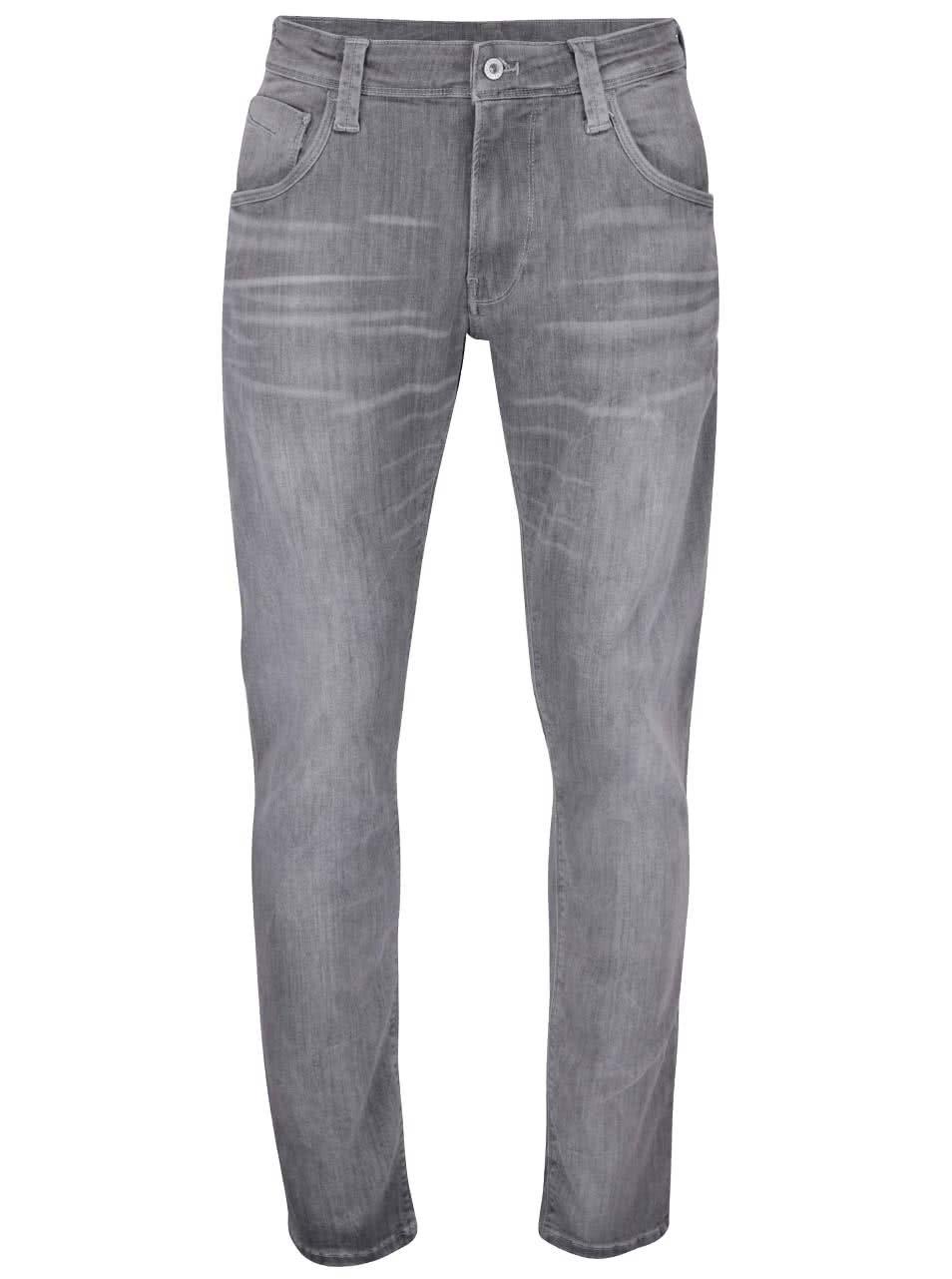 a3a29016d6f Šedé pánské regular džíny Pepe Jeans Zinc ...
