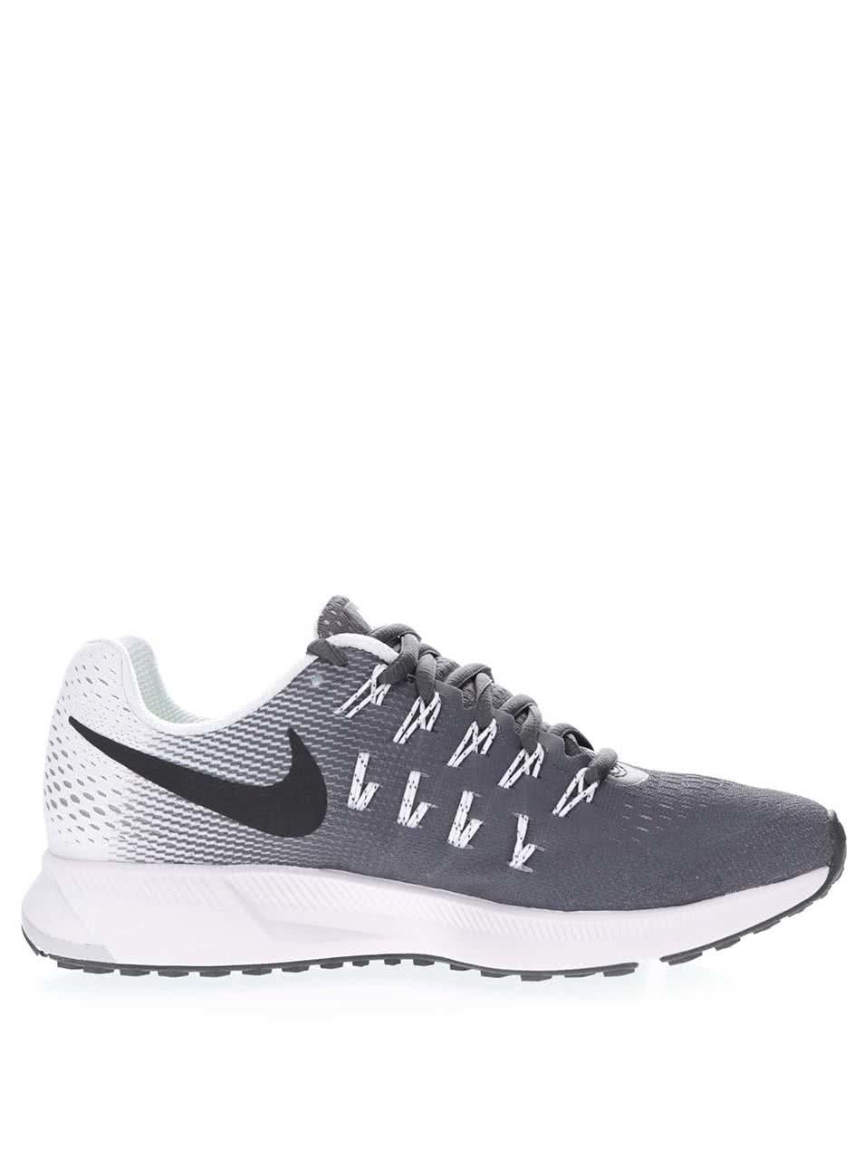 Šedo-černé dámské tenisky Nike Air Zoom Pegasus 33 ... 7f07ee8178