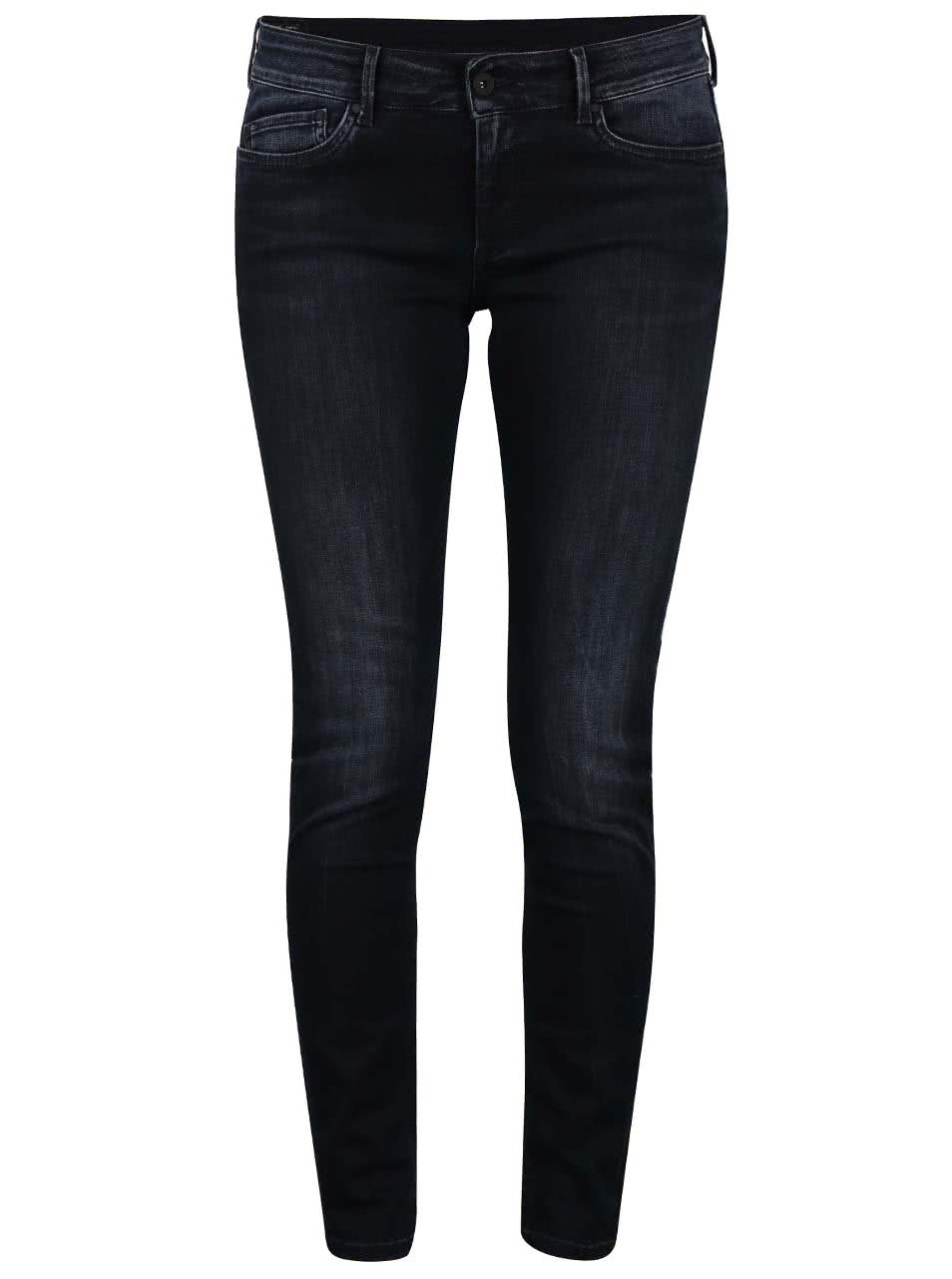 474cfa3dc1c Tmavě modré dámské slim fit džíny Pepe Jeans Pixie ...