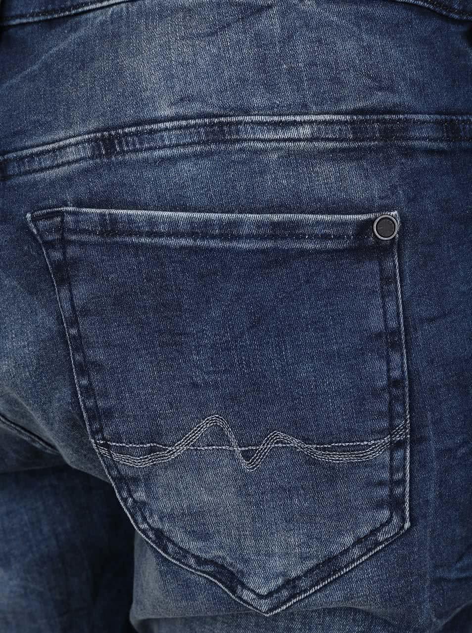 Tmavě modré dámské džíny se sníženým sedem Pepe Jeans Topsy ... 930ca3b10d