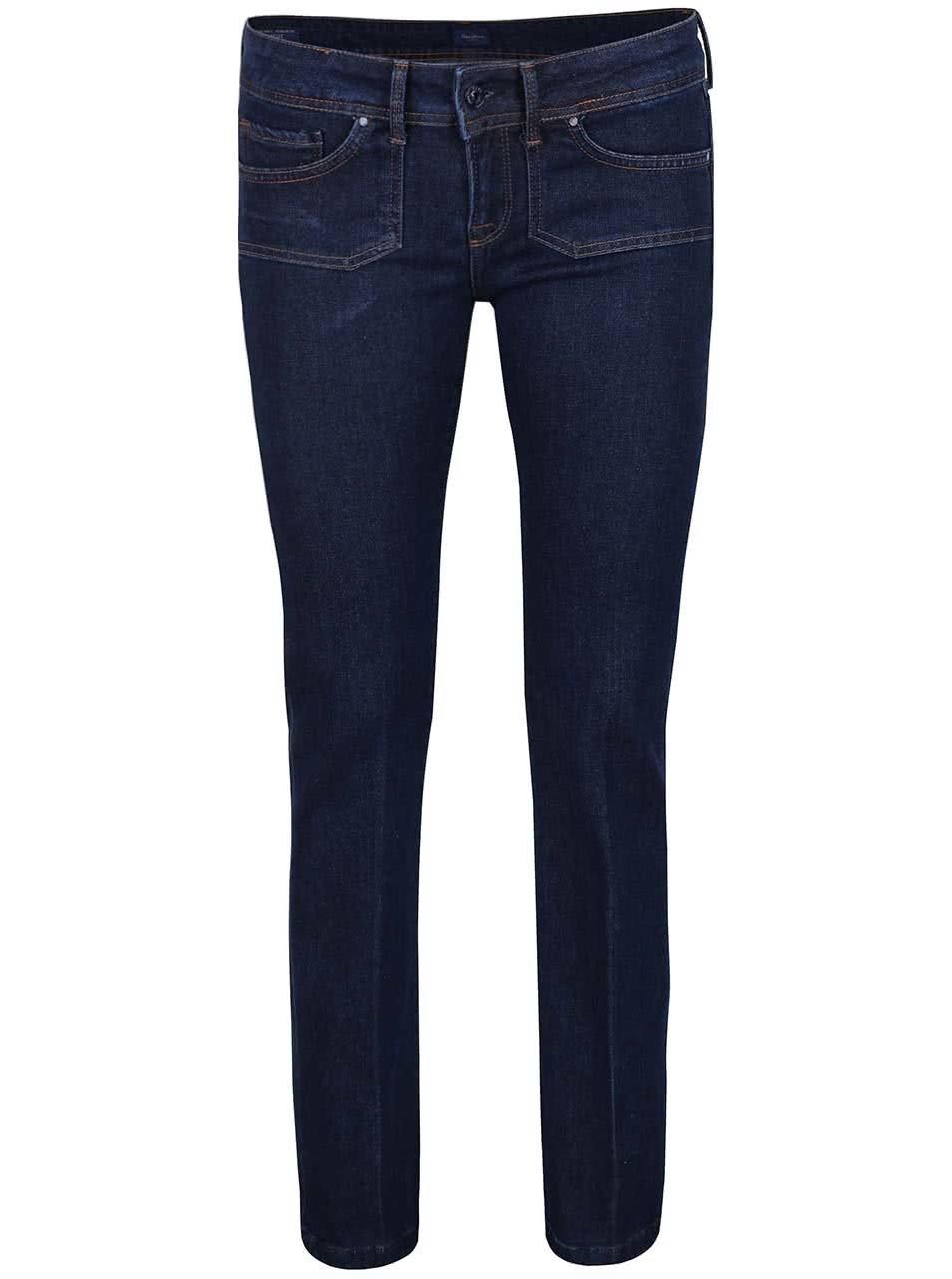 Modré dámské bootcut džíny Pepe Jeans Mojo ... 300e35acbb