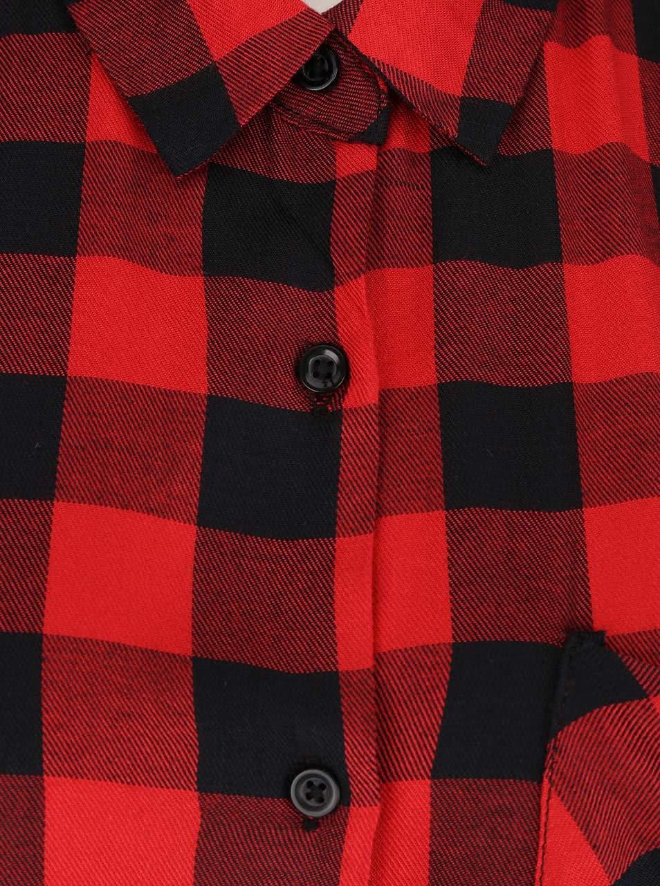 Červeno-černá kostkovaná košile Haily´s Alina ... 9c19cab29b