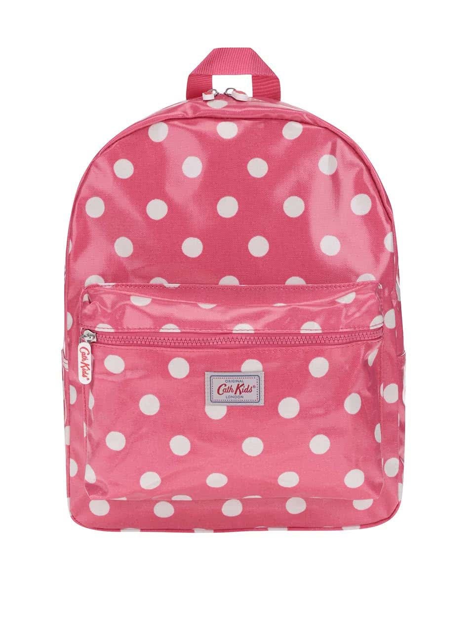 Růžový dívčí batoh s bílými puntíky Cath Kidston ... a773ba82c2