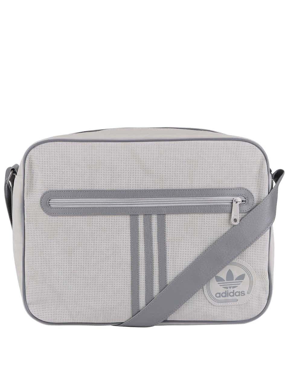 Sivá taška cez rameno adidas Originals Airliner ... d367deb599
