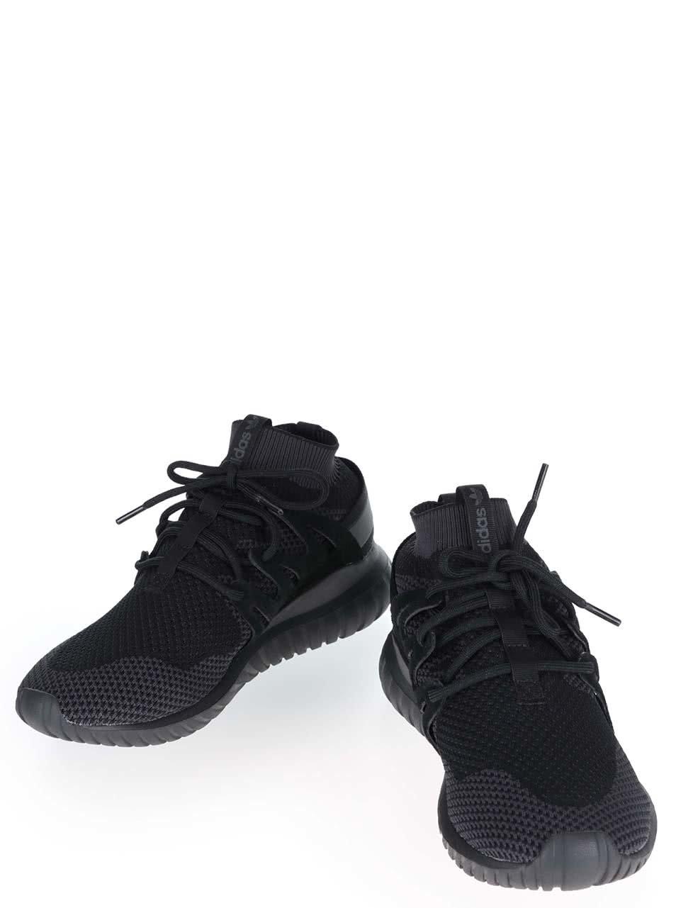 Čierne pánske tenisky adidas Originals Tubular Nova PK ... 5fd451c7d7a
