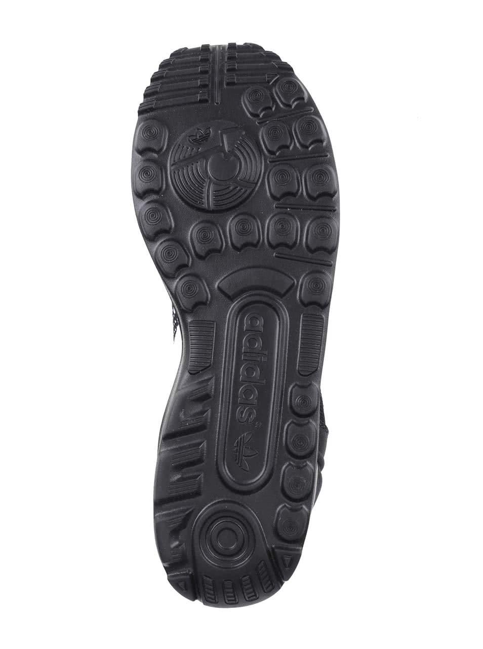 055f34317 Bielo-čierne dámske vzorované tenisky adidas Originals ZX Flux | ZOOT.sk