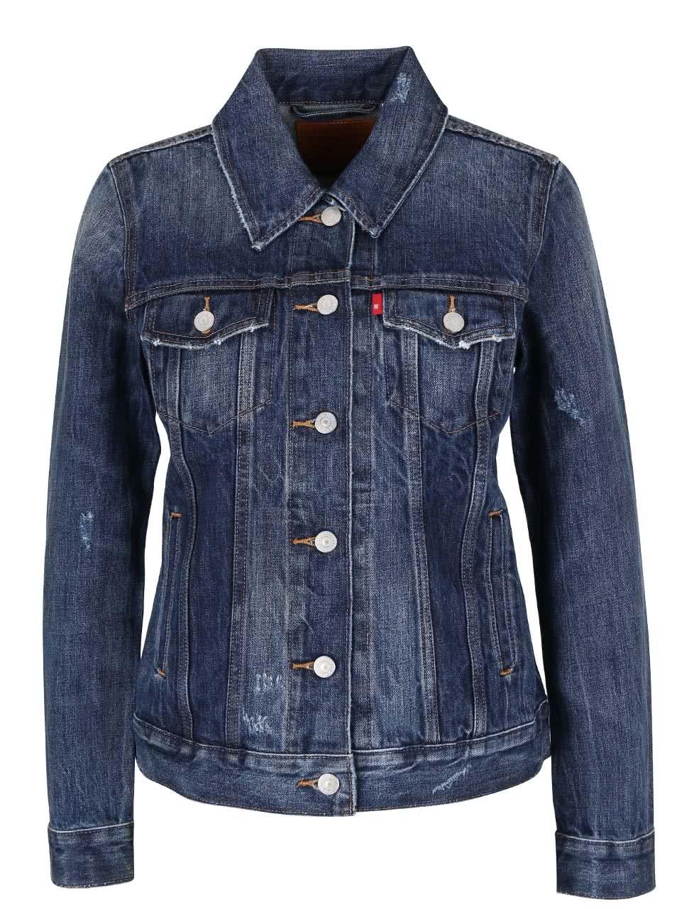 Modrá dámská džínová bunda Levi s® ... 9dde7a42e7