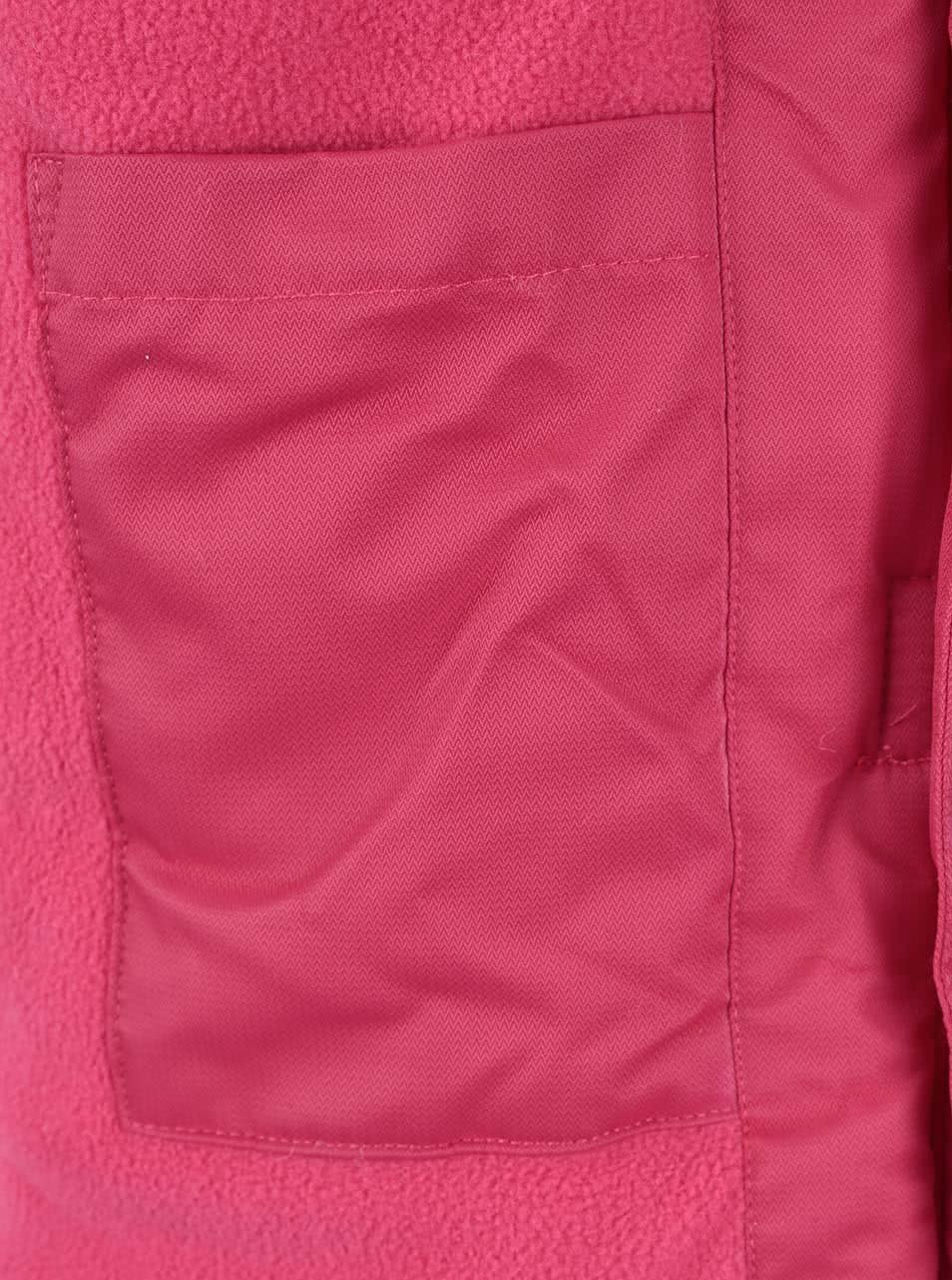 872c2449e Růžový holčičí kabát s kožíškem LEGO Wear Jenay | ZOOT.cz