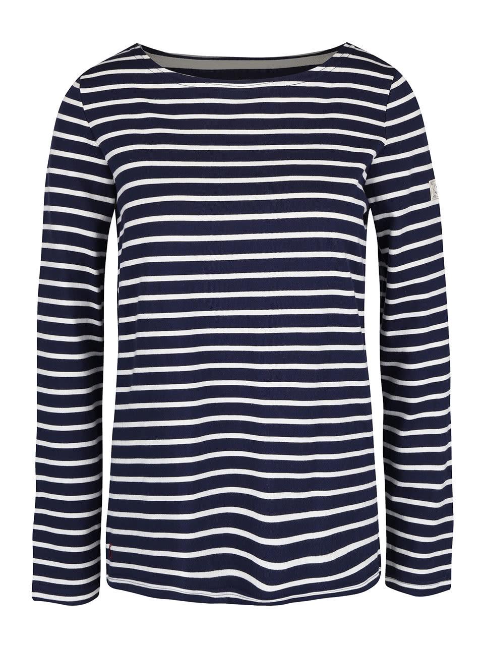 Tmavě modré dámské pruhované tričko s dlouhým rukávem Tom Joule Harbour ... 6285548047