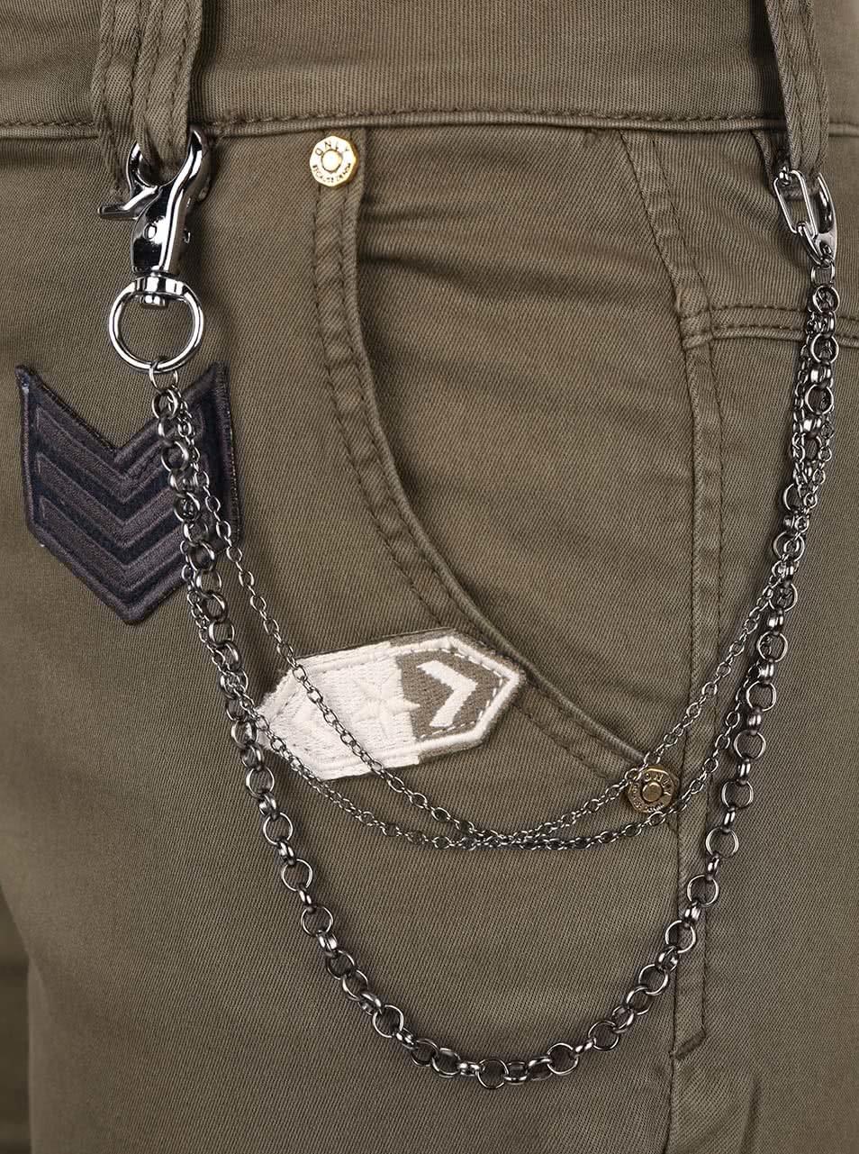 95ee8f856343 Kaki kapsáčové nohavice ONLY Amy Cargo ...
