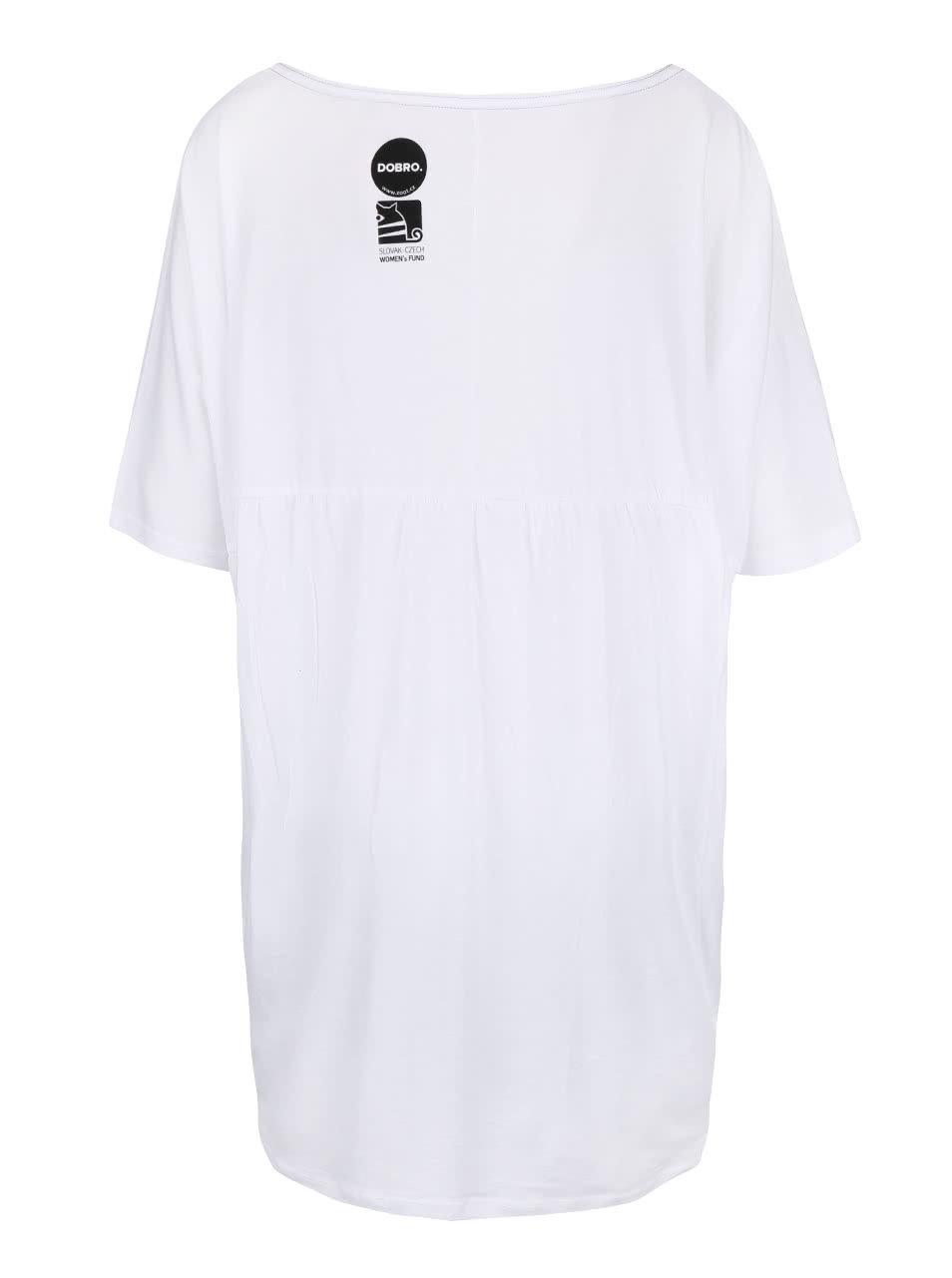 """""""Dobré"""" bílé dámské tričko pro Dove"""
