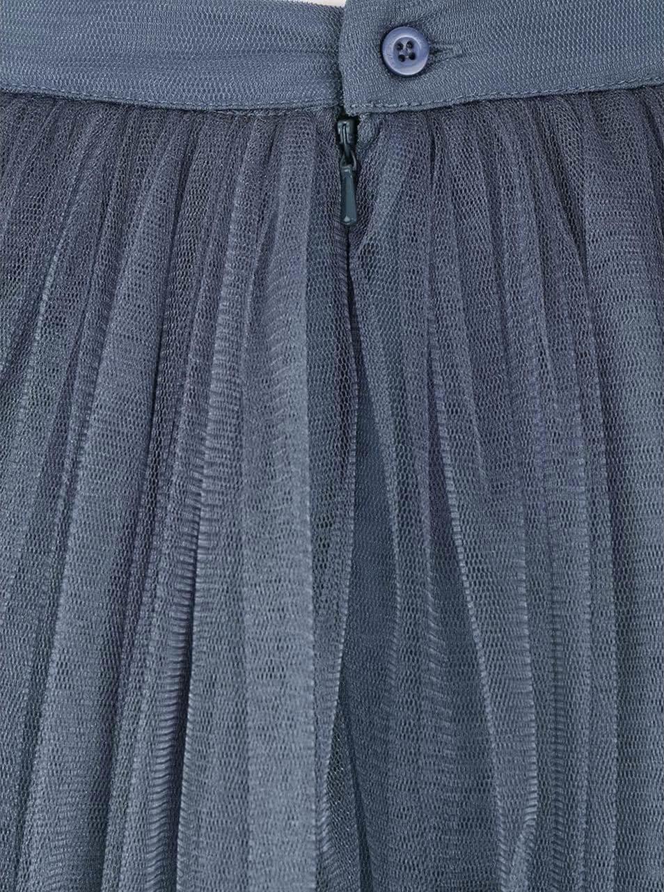 Levanduľová tylová midi sukňa Little Mistress ... 769707eb3c