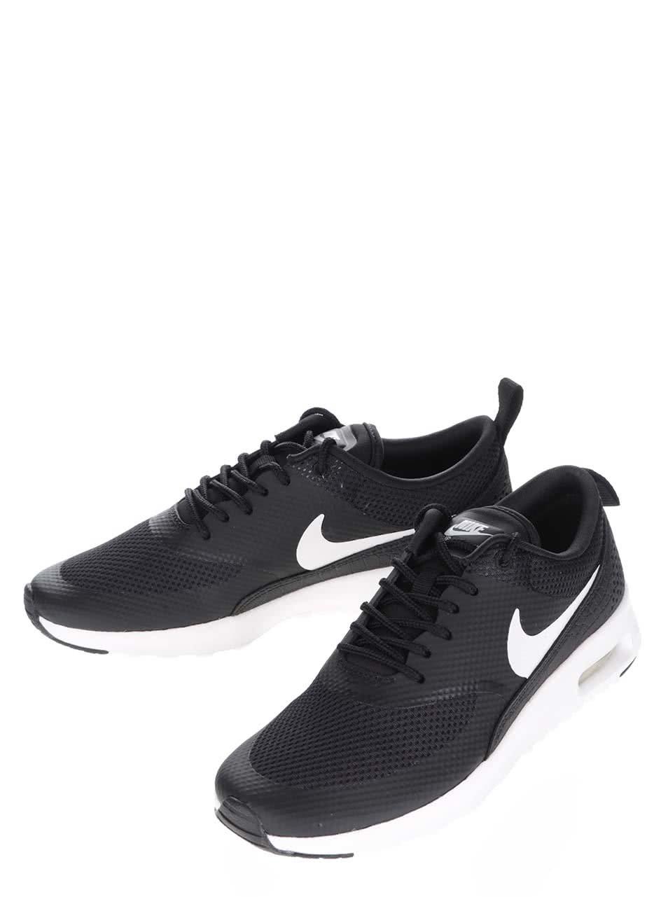 outlet store ad34f d9b31 Pantofi sport negri pentru femei Nike Air Max Thea ...