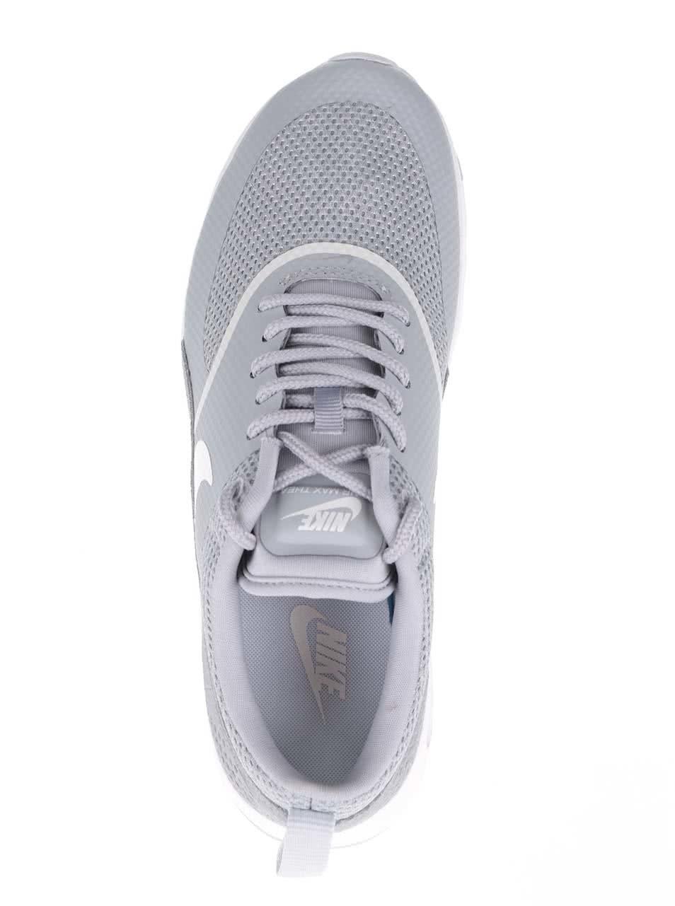 b7cad347d4 Svetlosivé dámske tenisky Nike Air Max Thea ...