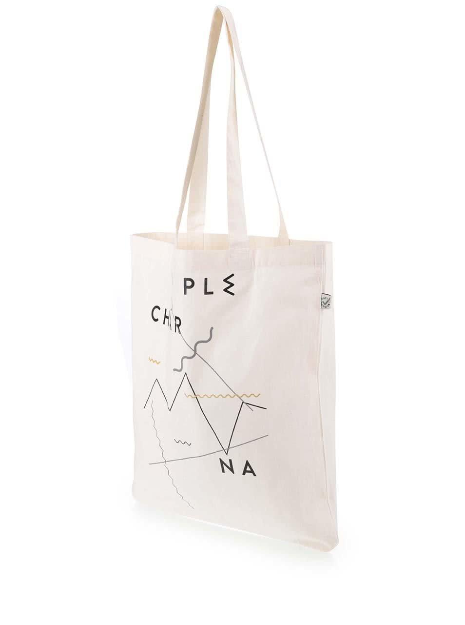 """""""Dobrá"""" plátěná taška pro Plechárnu"""
