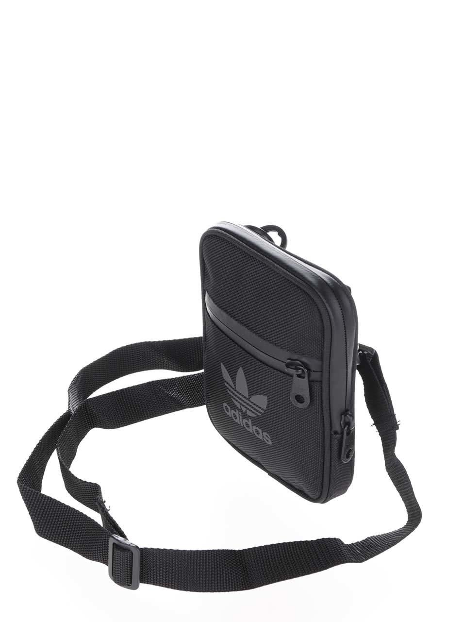 f77fda14c3 Čierna pánska crossbody taška adidas Originals ...