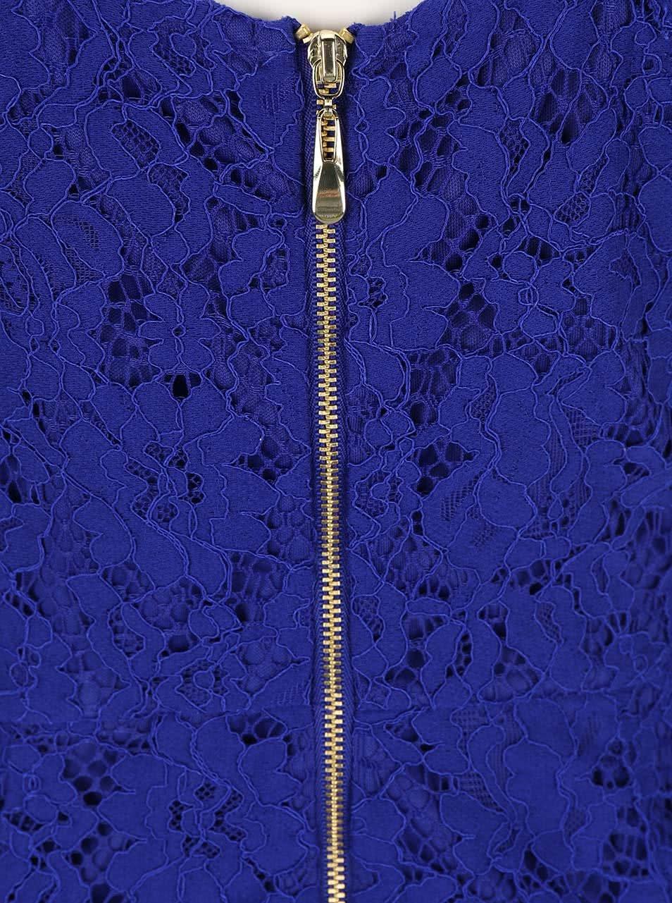 Kráľovsky modré čipkované šaty Dorothy Perkins ... fe826c9bc83