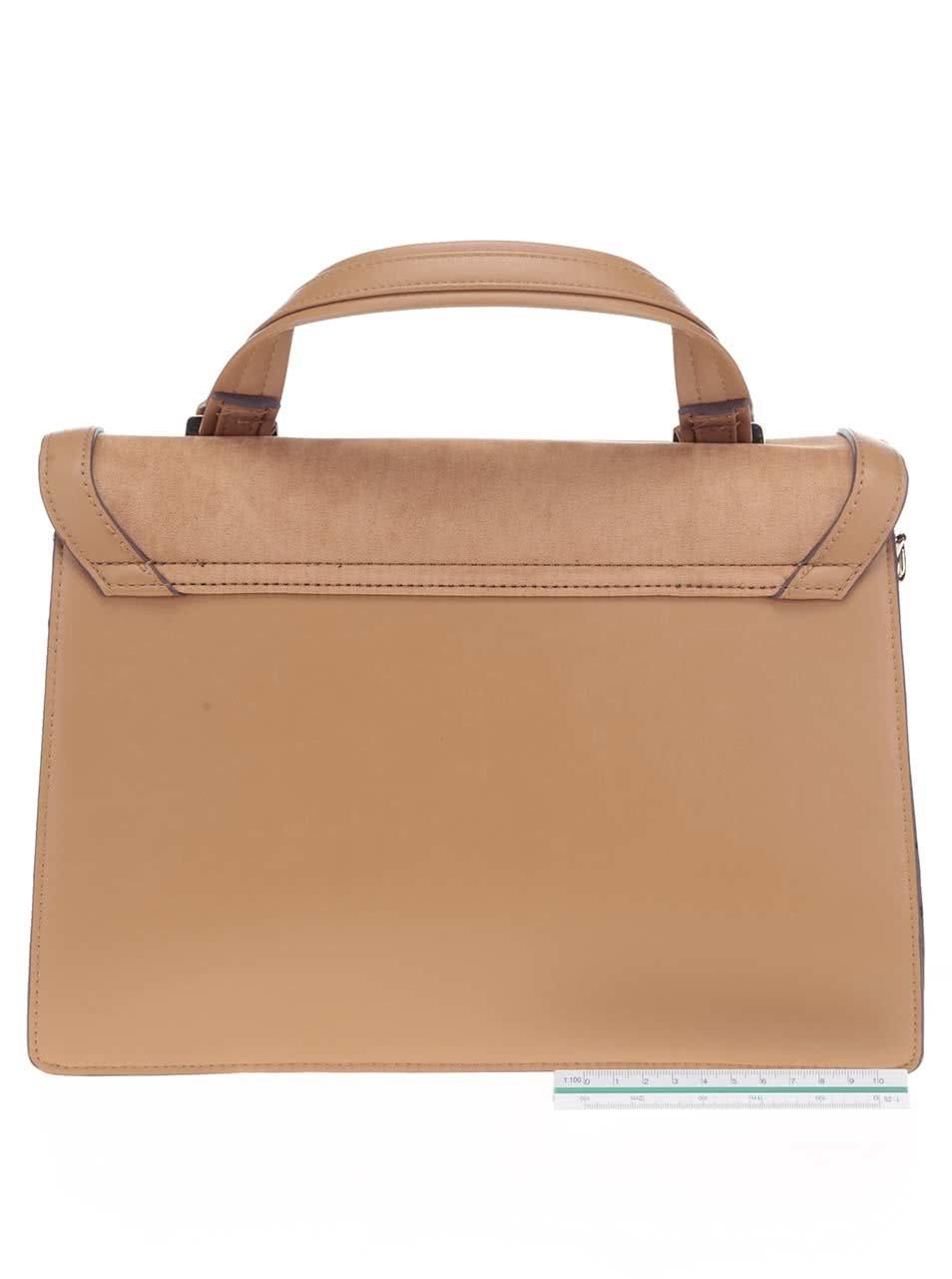 Béžová kabelka s popruhom Dorothy Perkins ... 89da1f0fb33