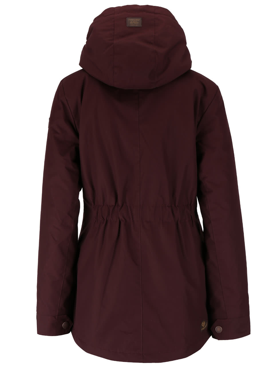 4c9aca0fc761 Vínová dámska bunda s kapucňou Ragwear Monade ...