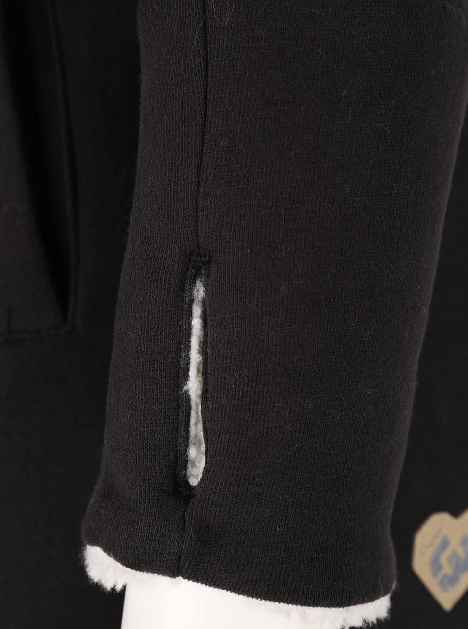 Černá dámská dlouhá mikina na zip Ragwear Amelia Organic ... 7ca417afc5