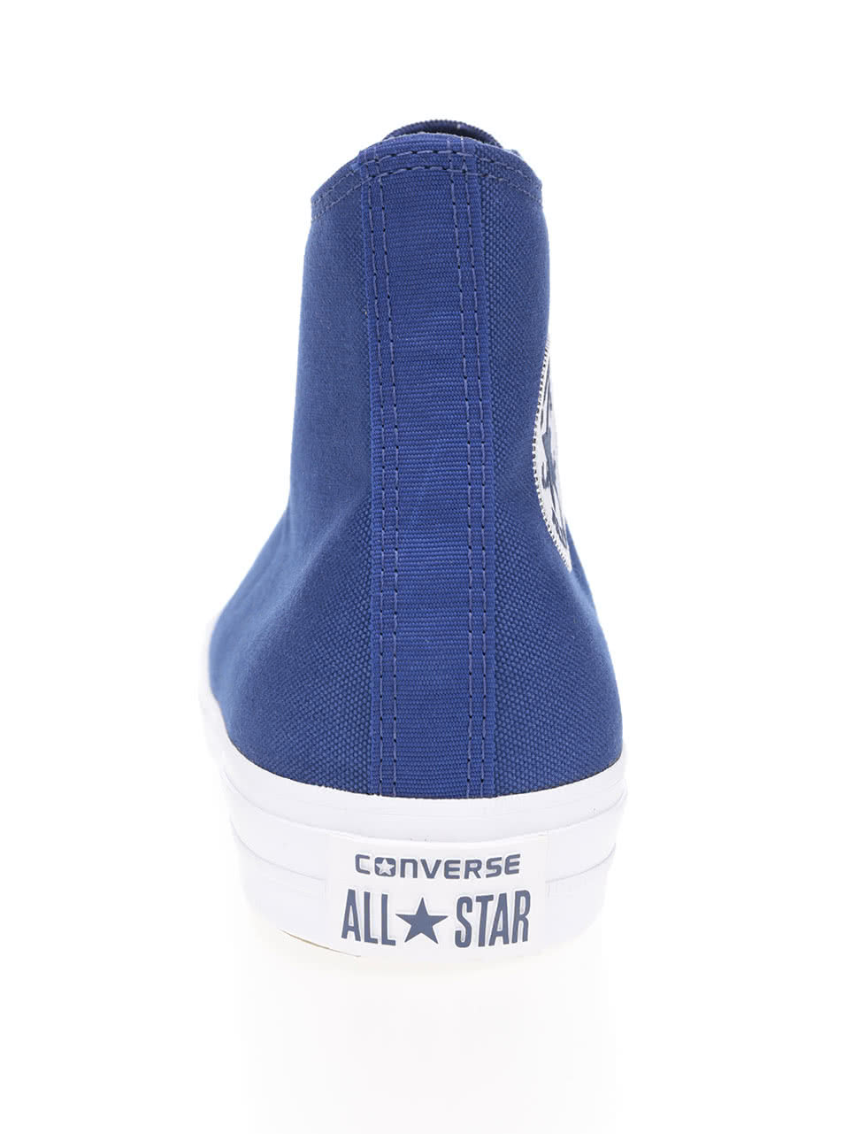 Modré unisex kotníkové tenisky s bílým logem Converse Chuck Taylor All Star  ... e433008130b