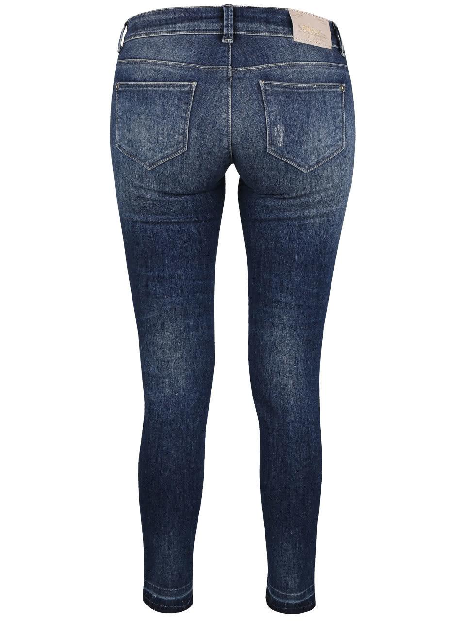 e9614104afc Tmavě modré dámské džíny ONLY Carrie ...