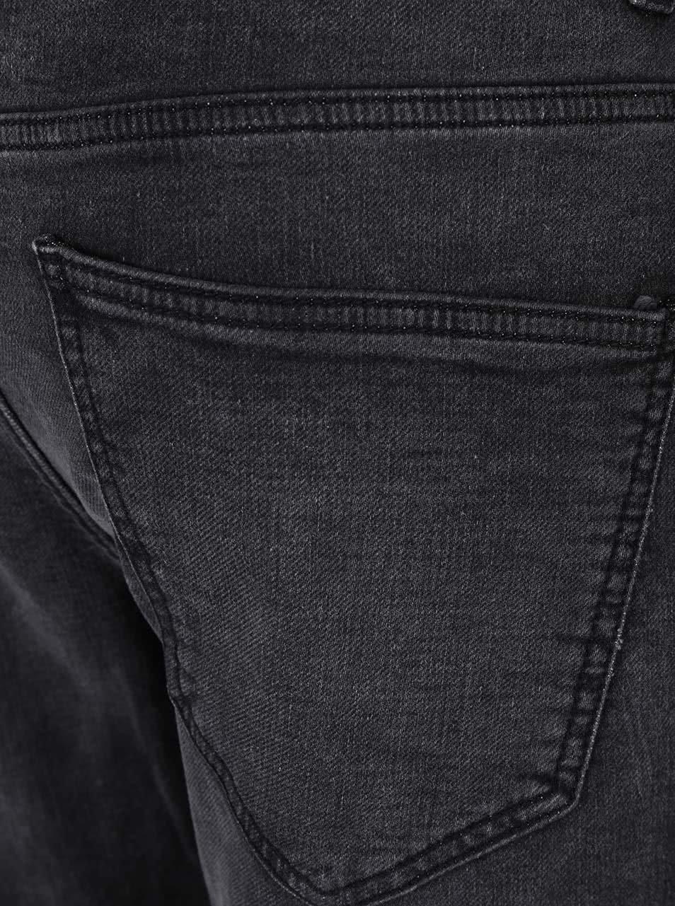 Šedé džíny s vyšisovaným efektem ONLY   SONS Loom Jog ... c0b3d0b994