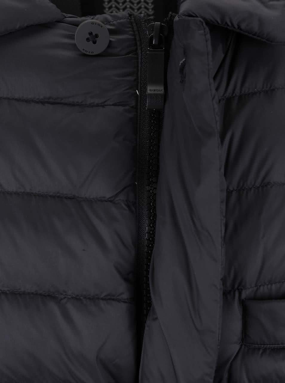 Černá pánská bunda Geox Down ... 14b79e383f7