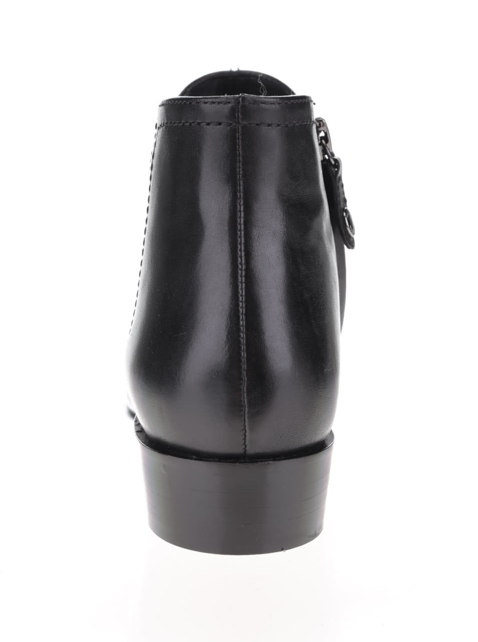 d164afa9d9 Čierne dámske kožené členkové topánky Geox Lover B ...