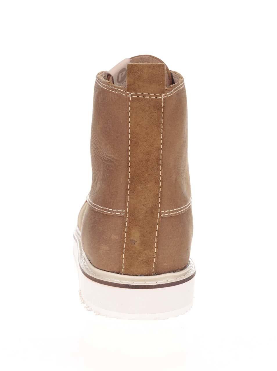 fa4b6aa6183c Hnedé pánske kožené členkové topánky Pointer Willard ...