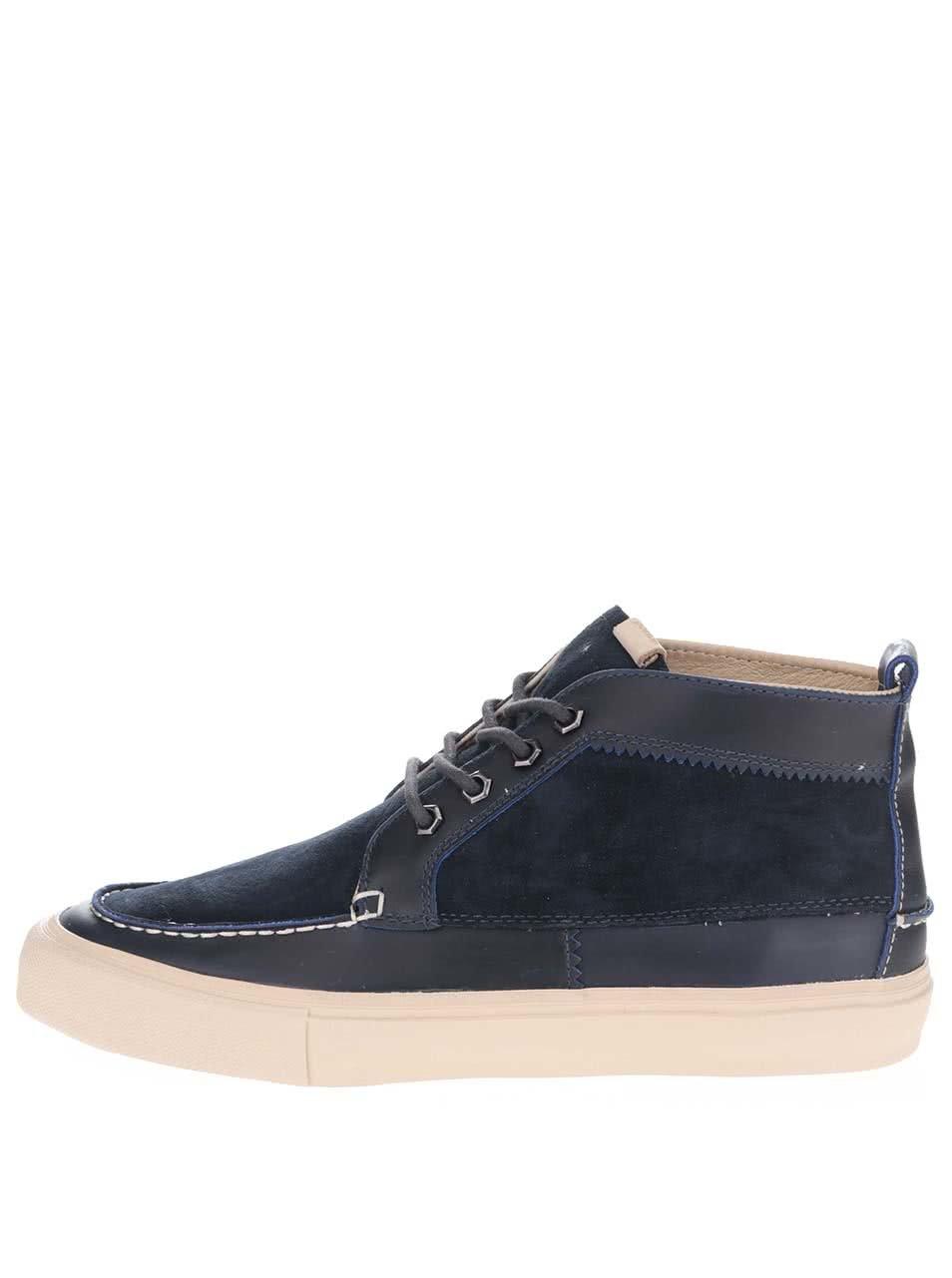 b9a4d80beda55 Tmavomodré pánske semišové členkové topánky Pointer Roger | ZOOT.sk