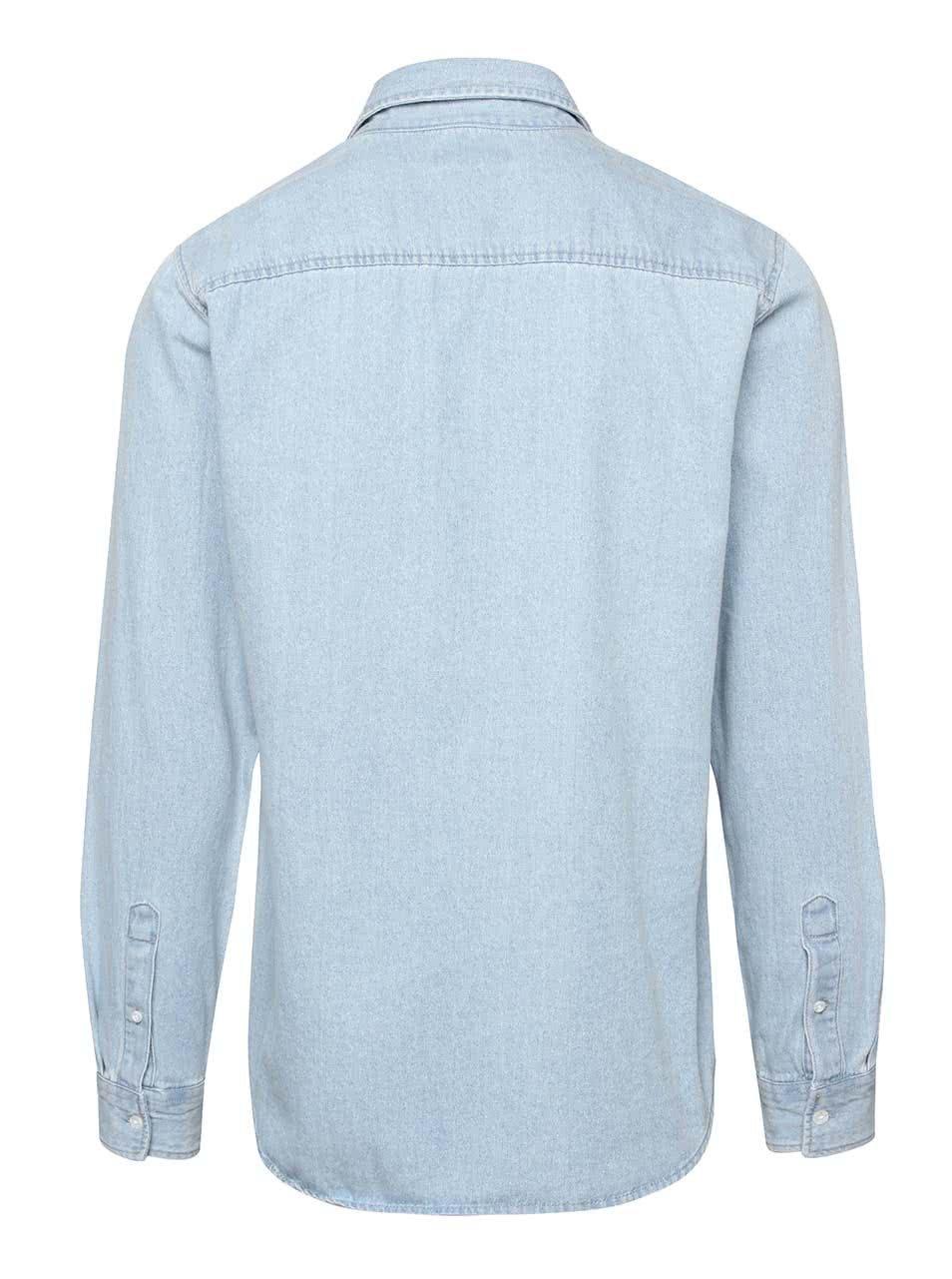 d63323deda Svetlomodrá rifľová košeľa s vreckom Jack   Jones Denim ...