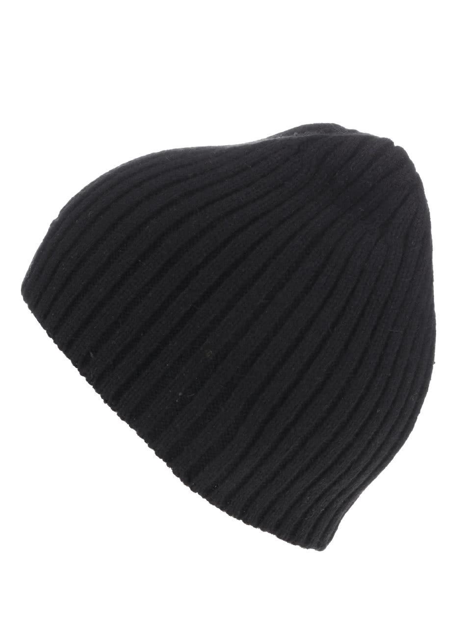 Černá pánská čepice GANT ... 3b12f316dd