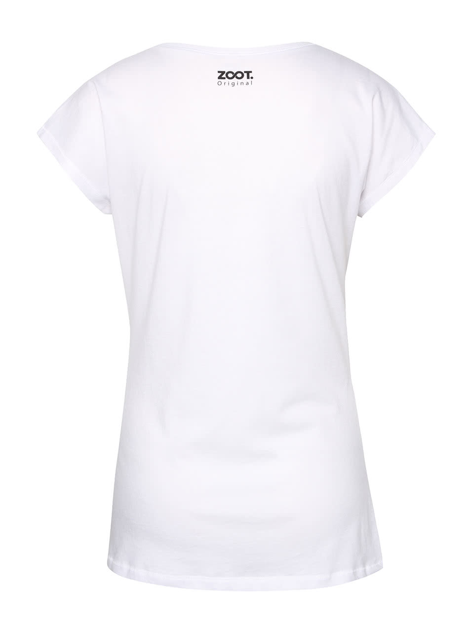 0b7c99cfbfc Bílé dámské tričko s rukou ZOOT Originál Skate ...