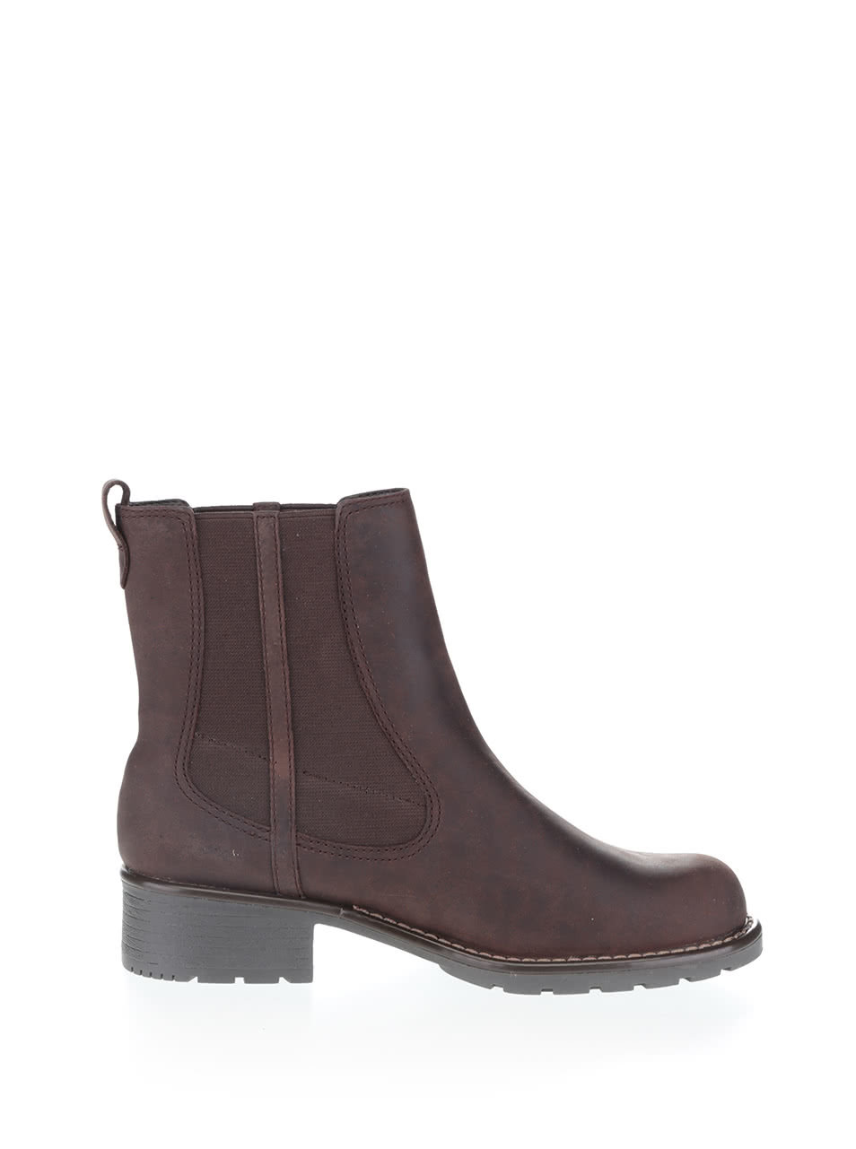 883f1bc3222a Hnedé dámske kožené členkové topánky Clarks Orinoco Club ...
