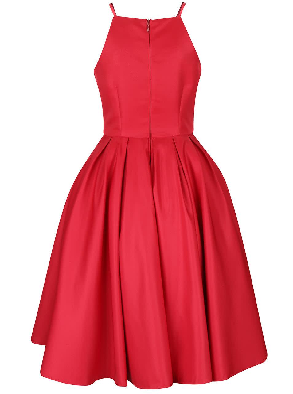 Červené šaty Chi Chi London Amity ... a6c4d499c19