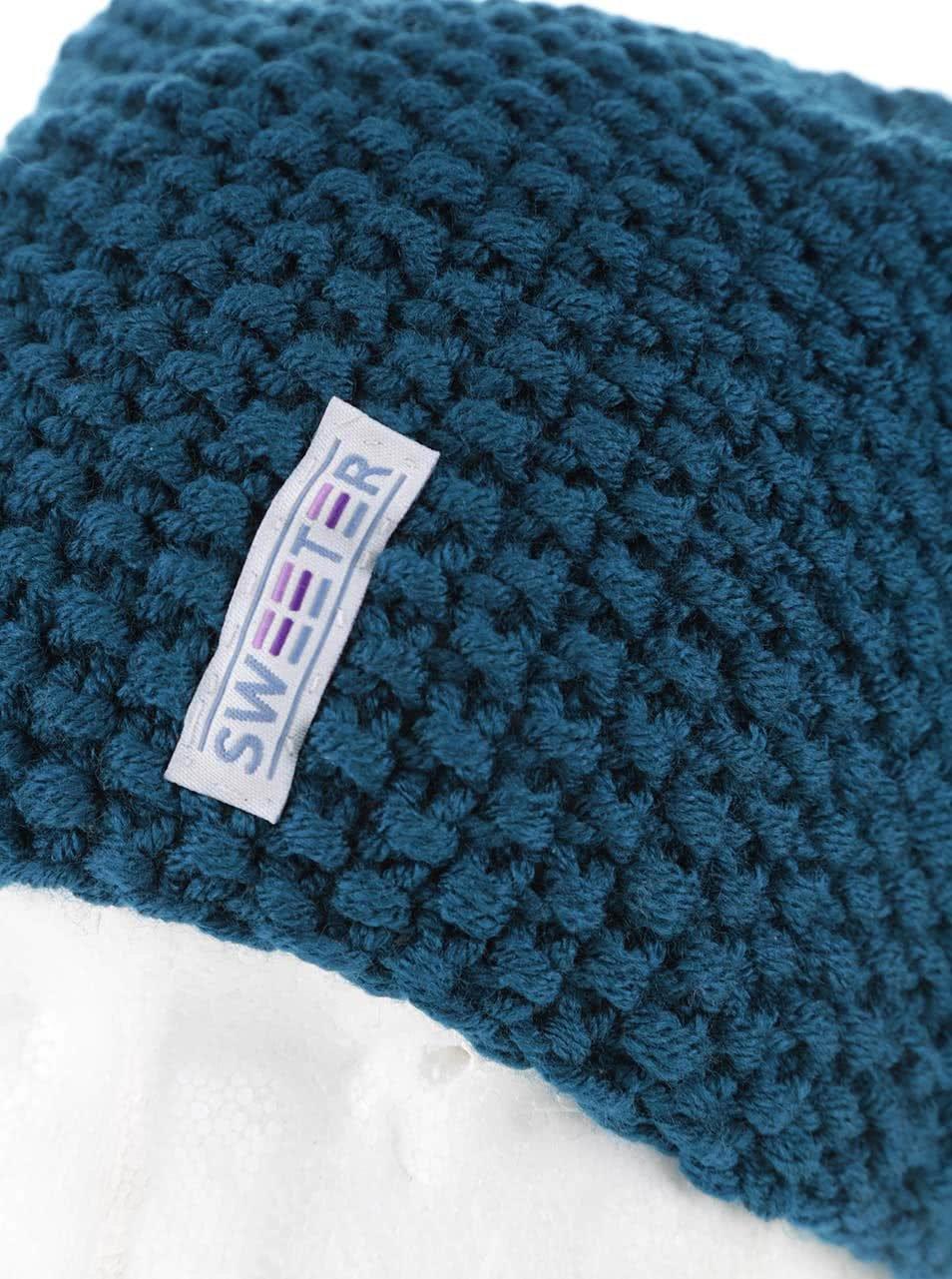 """""""Dobrá"""" modrá čepice od SWEETER"""