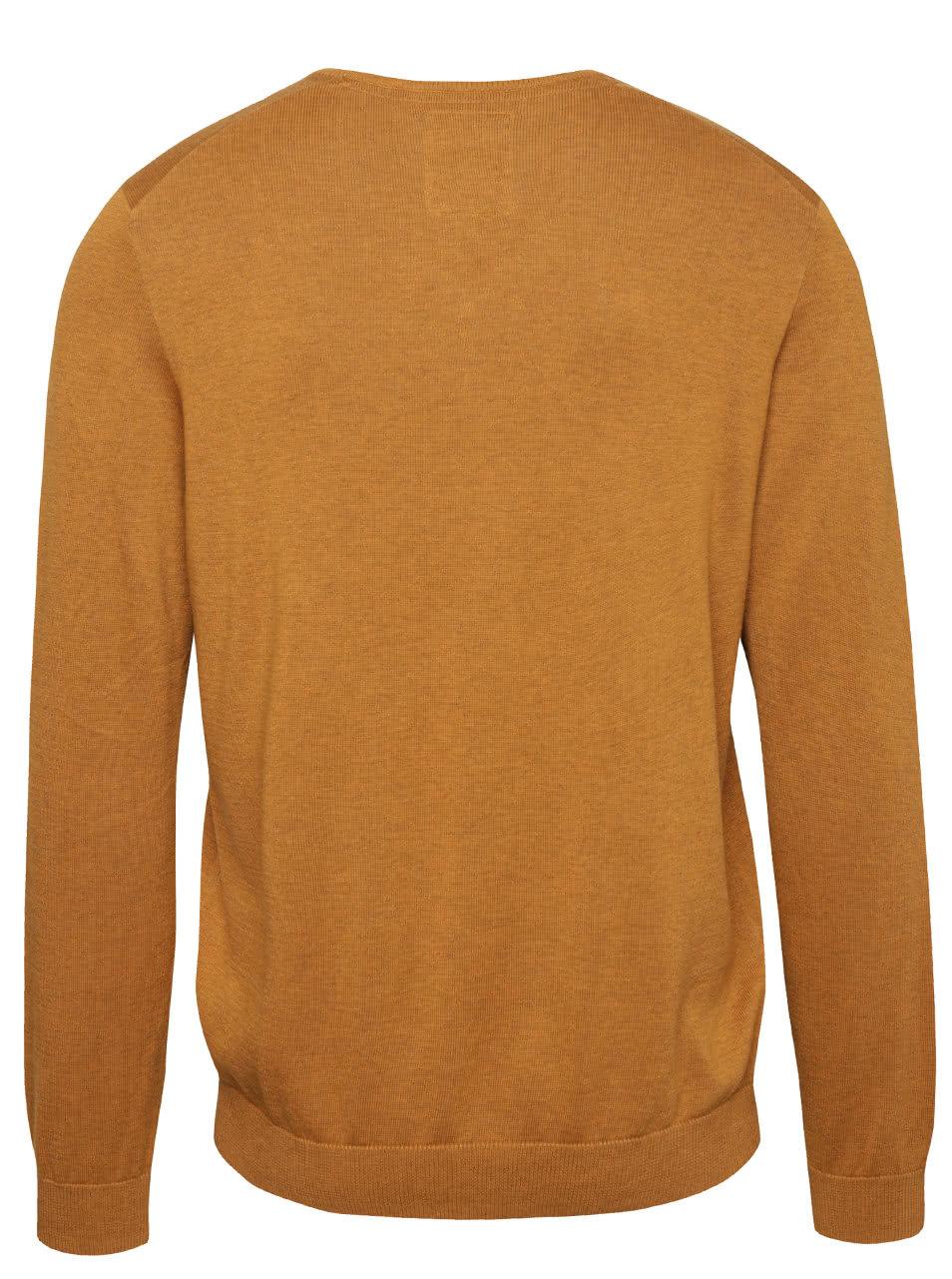 09cb1e2cd292 Hnedý pánsky sveter s.Oliver